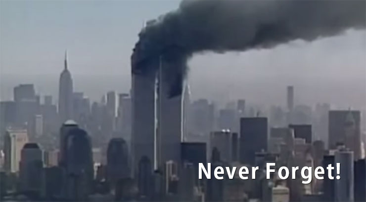 Never Forget - Twin Towers on 9/11