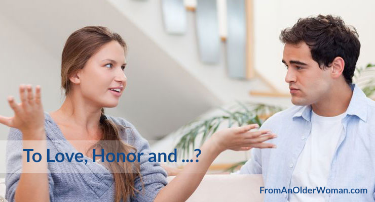 To Love, Honor and ...?